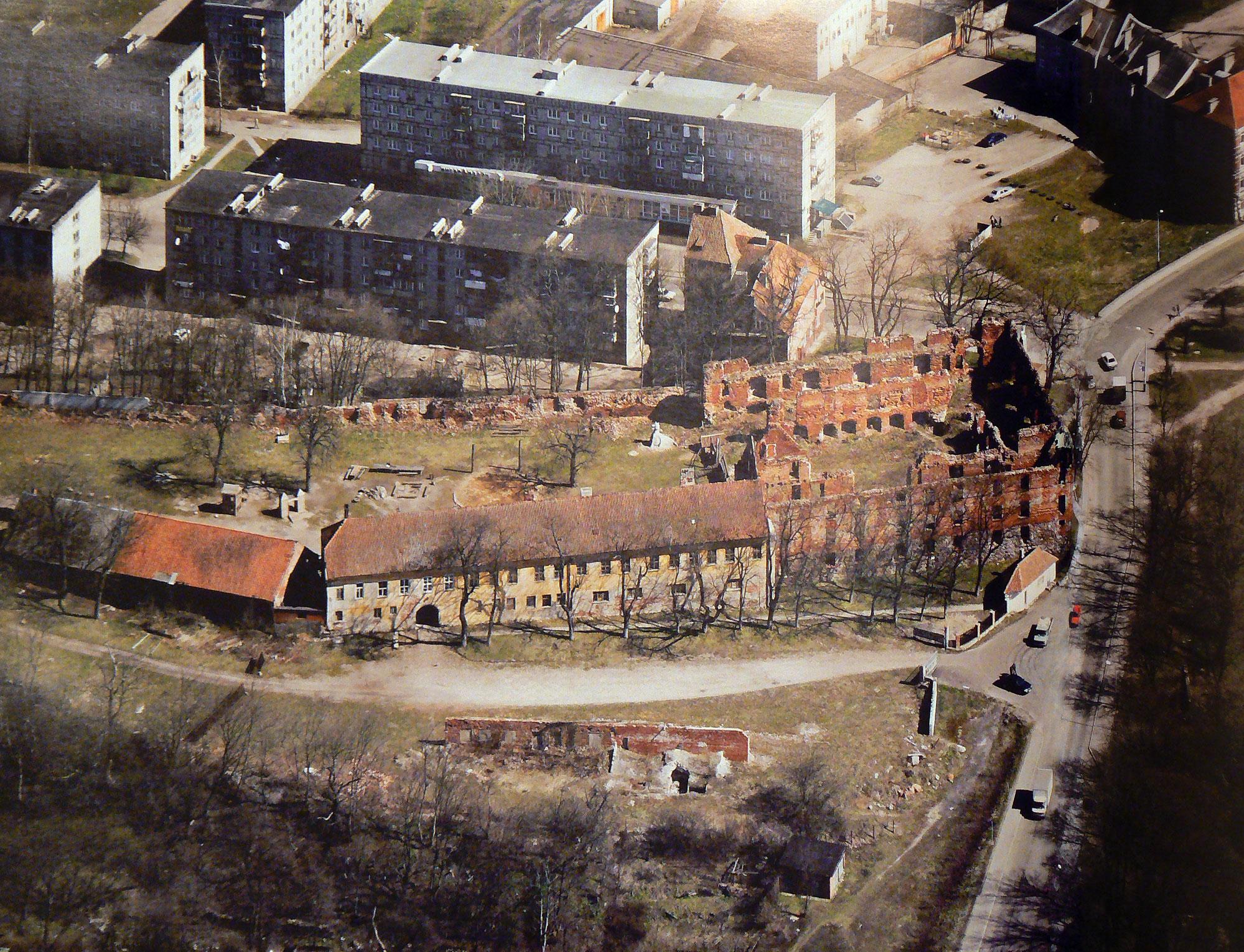 Вид замка Инстербург